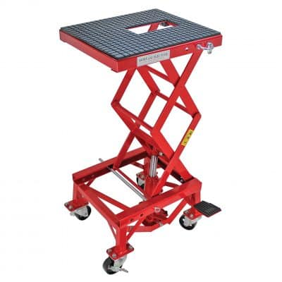 Extreme Max 5001.5083 Hydraulic 30lb Motorcycle Lift Table