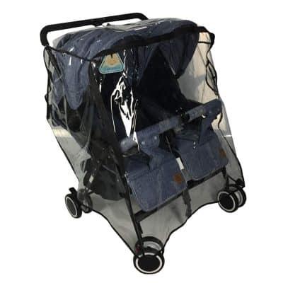 EZTongPin Twins Stroller Raincoat
