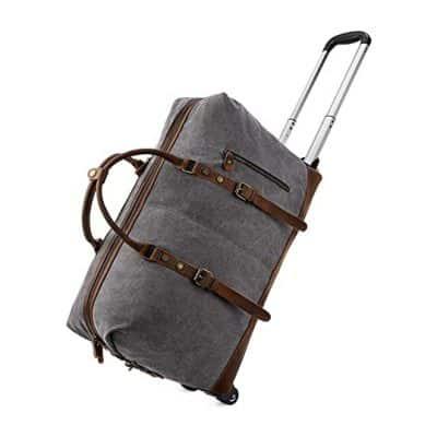 Kattee Rolling Duffel Luggage