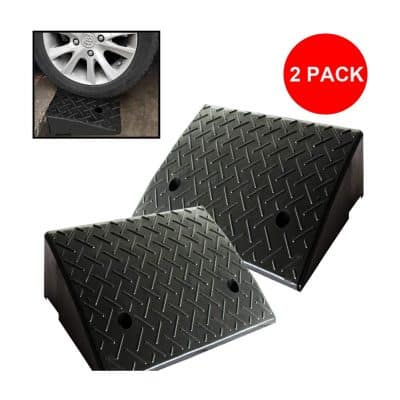 Reliancer 2 Rubber Car Curb Ramps