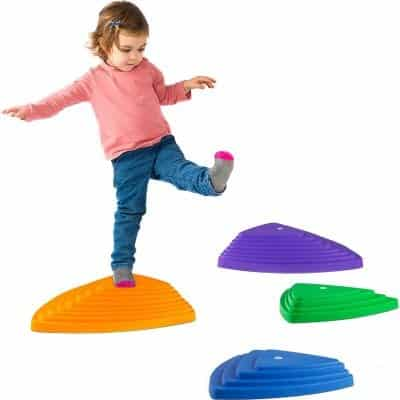 Hey! Play! Triangular Stepping Stones