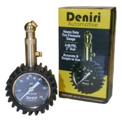 Deniri Heavy Duty Tire Pressure Gauge