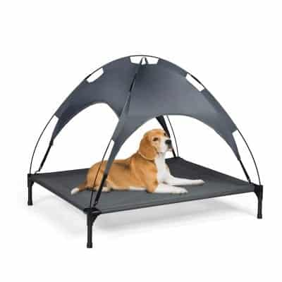 Giantex Dog Bed with Detachable Canopy