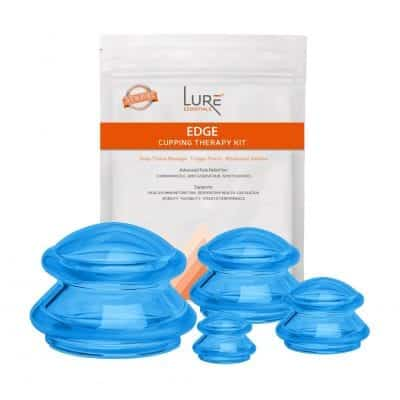 Lure Essentials Edge Flex Silicone Advanced Cupping Therapy Set