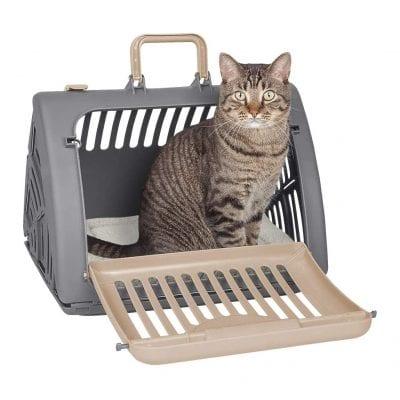 SPORT PET Designs Foldable Travel Cat Carrier