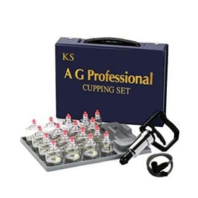 K.S Choi Corp 17 Cups Professional Cupping Set