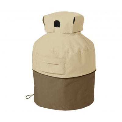 Classic Pebble Water-Resistant 7 Inch Propane Tank Cover