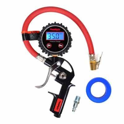 PowRyte Works Digital Tire Pressure Gauge