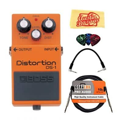 Boss DS-1 Distortion Bundle