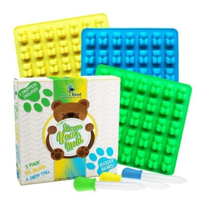 Avery Road Homewares Bigger Gummy Bear Molds