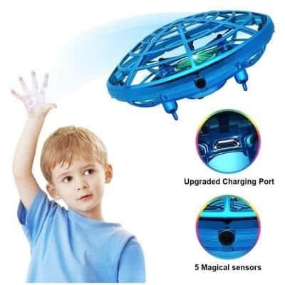 DEARHOP Hand Operated Drone [for kids & adults]