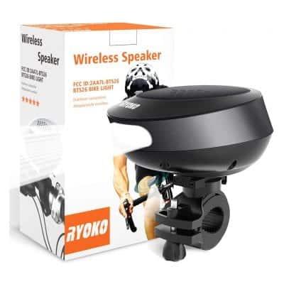 RYOKO Waterproof Bike Bluetooth Speaker
