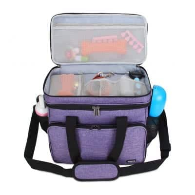 Teamoy Double Layer Weekend Dog Travel Bag