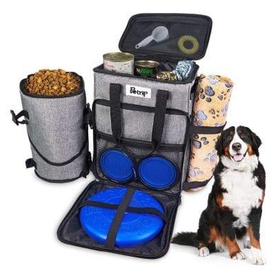 PETRIP Large Capacity Dog Travel Bags