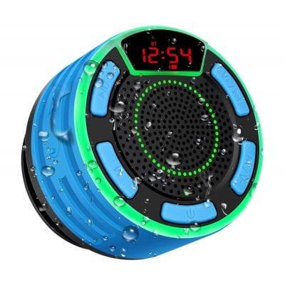 BassPal Bluetooth Speaker IPX7 Waterproof Portable Wireless Shower Speaker
