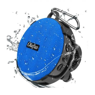 Olafus Bluetooth Bike Speaker for Outdoor Riding with a Built-in Mic