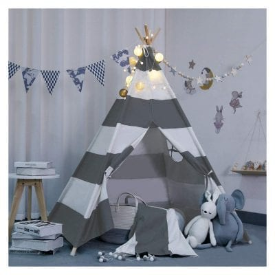 Scriptract Kids and Pets Teepee Tent Playhouse