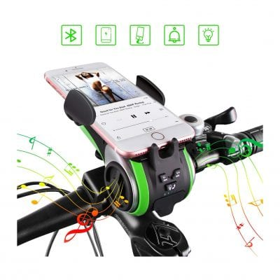 UPPEL Wireless Bike Bluetooth Speakers - Supports TF Cards