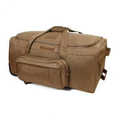 ARMYCAMO Wheeled Trolley Duffel Bag