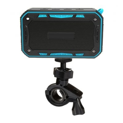 BOOMER VIVI Bluetooth Speaker with a Bicycle Holder (Blue)