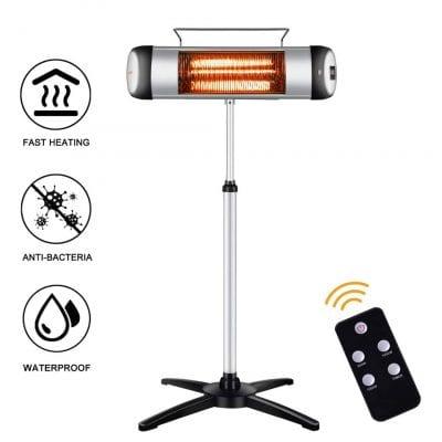 sundate Electric Outdoor Heater w/Remote Control