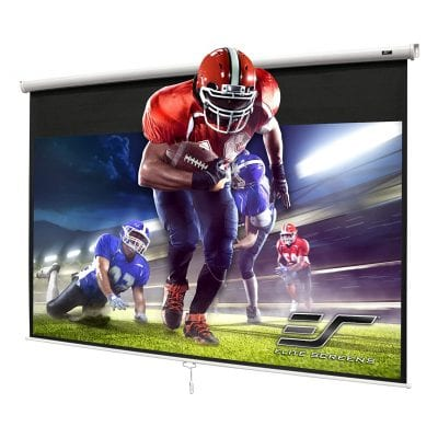 Elite Screens Manual 100-Inch Pull Down Projector Screen