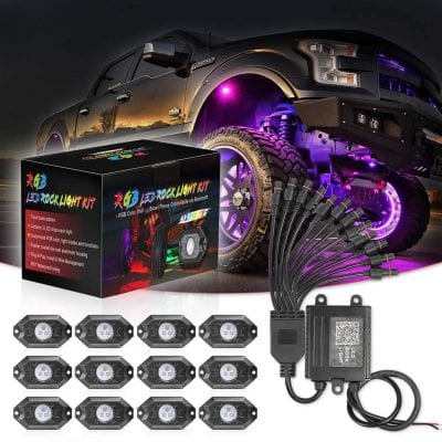 Swatow 4x4 Bluetooth Multicolor Led Rock Lights