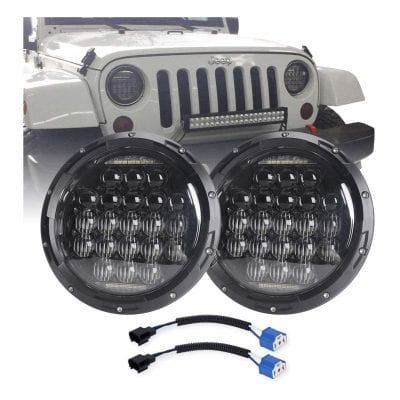 COWONE 7 Inch 5D Round 130w LED Projector Headlight
