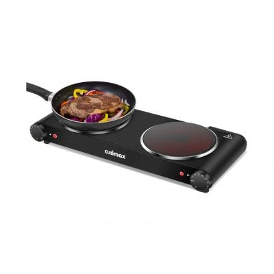 Cusimax Heat-up In Seconds Portable Electric Hot Plate for Dorm