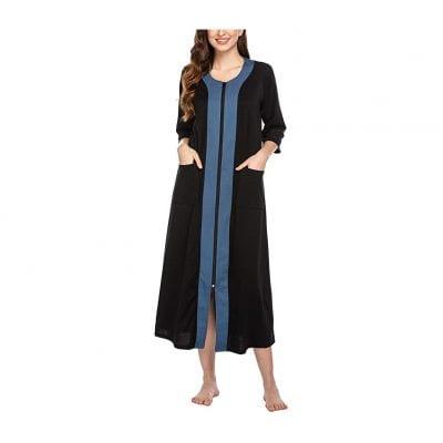 Ekouaer Women Full Length Nightgown Duster Housecoat