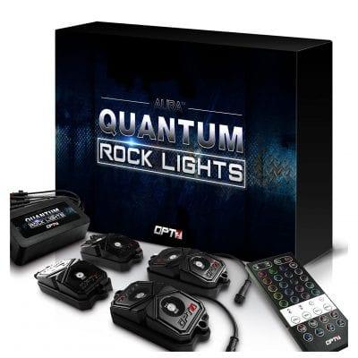 Opt7 Ip67 Waterproof Multicolor Rock Lights