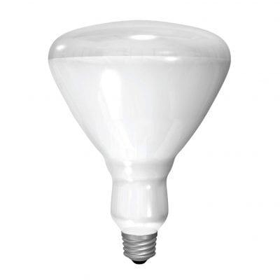 GE Lighting Incandescent Heat Lamp Bulb 125W 2100 Lumens