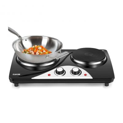 CUKOR Countertop Electric Hot Plate for Cooking
