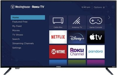Westinghouse 50-Inch LED Smart TV