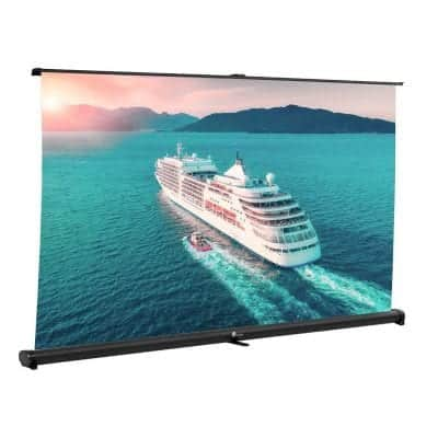 Houzetek Portable Projector Screen with Auto Lock