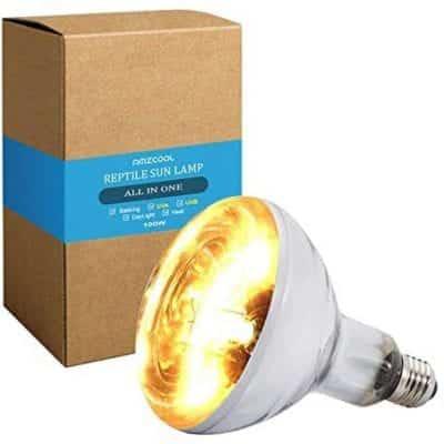 AMZCOOL UVA and UVB Heat Lamp Bulb