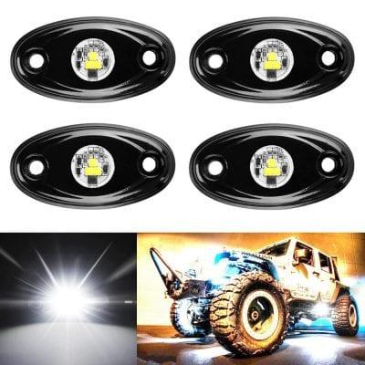 Aukmak 4 Pods LED Neon Rock Lights