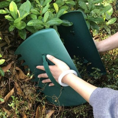 Caiyuangg 20 Pack Edging Leaf Scoops Hand Rakes