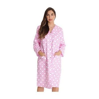 Dreamcrest Women's Snap-Front House Coat