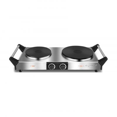 Duxtop Portable Electric Hot Plate with Handles