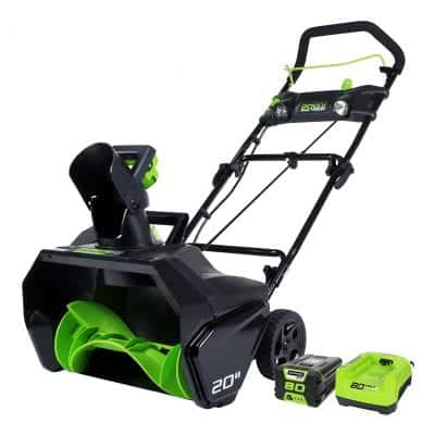 Greenworks 2600402 Pro Cordless Snow Thrower