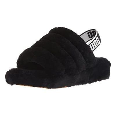 UGG Women's Fluffy Slide Slippers
