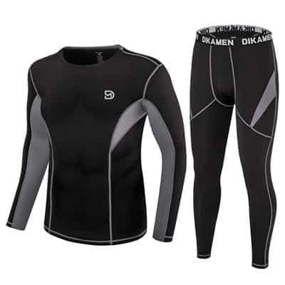 DIKAMEN Men's Thermal Underwear Set
