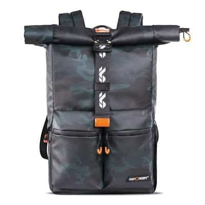 K&F Concept SLR/DSLR Waterproof Camera Backpack with Rain Cover