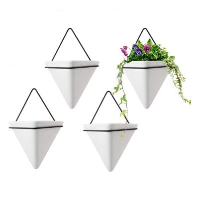 T4U Triangle Wall Planter Wall Decor Air Plant Container