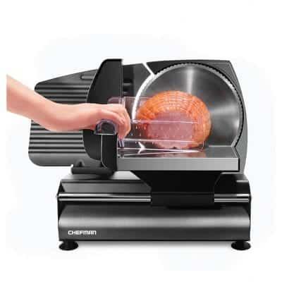 Chefman Electric Die-Cast Meat Slicer