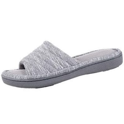 Isotoner Women's Space Knit Slide Slippers