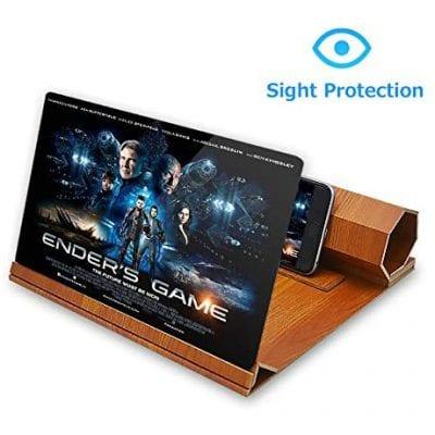 "ORETECH 12"" Foldable 3D Phone Screen Magnifier"