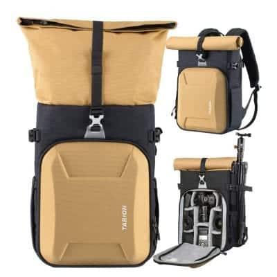 TARION XH Waterproof 18.5L Camera Bag Camera Backpack with Waterproof Rain Cover