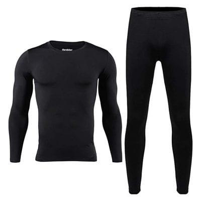 HEROBIKER Men's Thermal Underwear Set